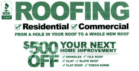 roofing residential service